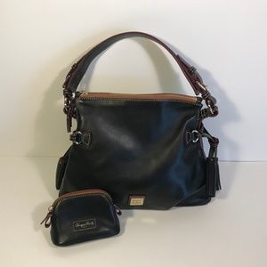 Dooney & Bourke Tegan Tassel Shoulder Bag w/ Coin